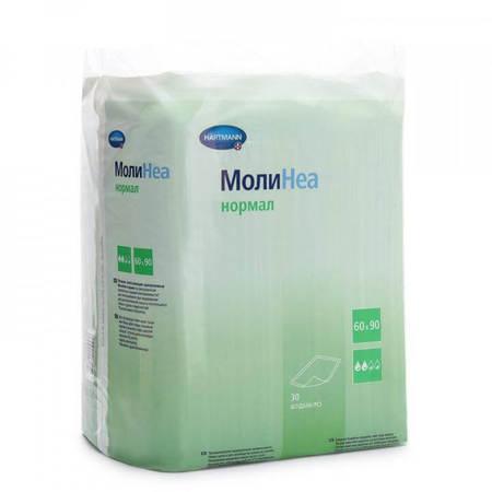Впитывающие пеленки MoliNea normal/ Молинеа нормал: 60х60, 30шт.