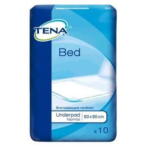 Простыни TENA Bed Normal /ТЕНА Бед Нормал, 60х90, 10 шт.